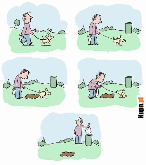 Sprzątaj po swoim psie :)