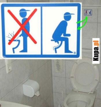 Instrukcja dla mężczyzn