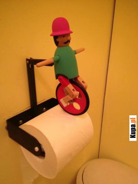 Jedzie rowerku po papierku