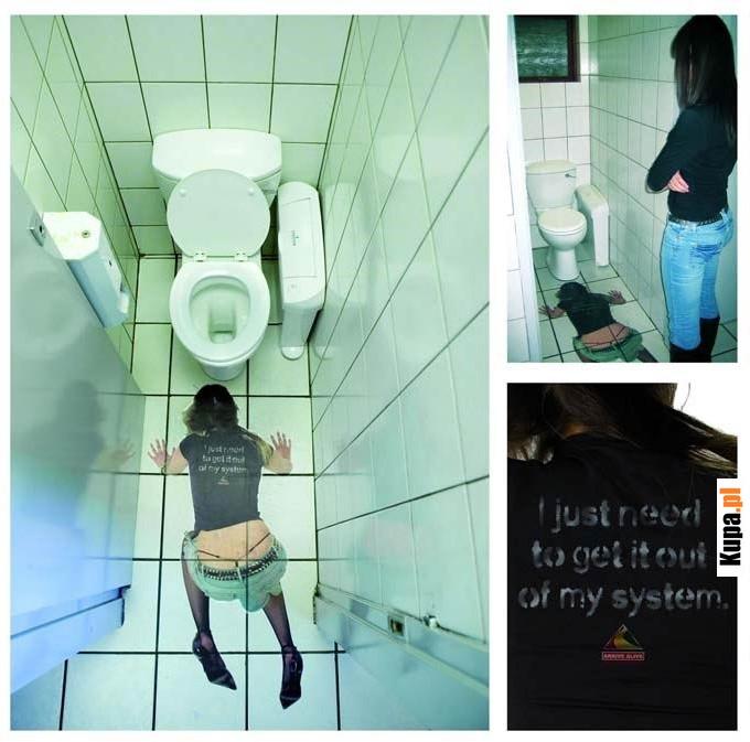 Nadruk w damskiej toalecie