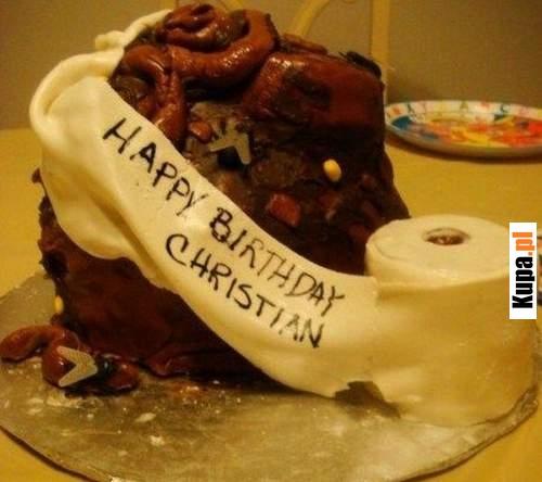 Pyszny tort urodzinowy :)