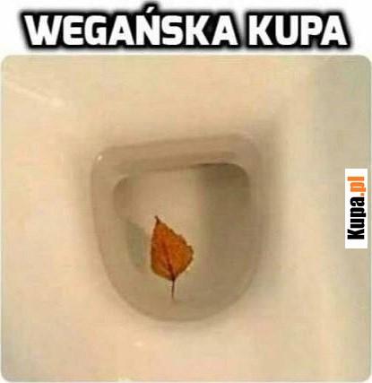 Wegańska kupa