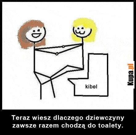 Teraz wiesz, dlaczego dziewczyny zawsze razem chodzą do toalety