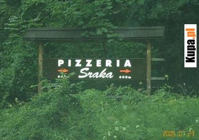 Pizzeria Sraka - Smacznego