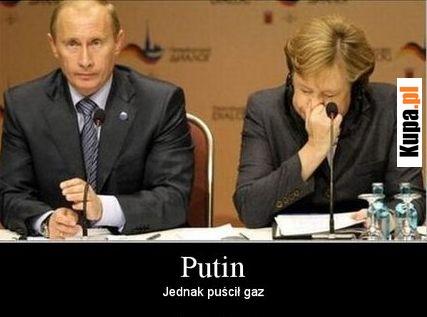 Putin - Jednak puścił gaz