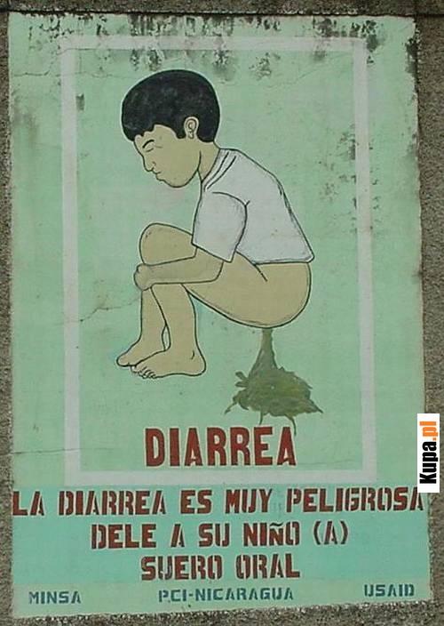 La diarrea es muy peligrosa...