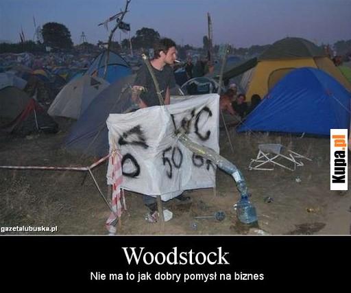 WC Woodstock - nie ma to jak dobry pomysł na biznes