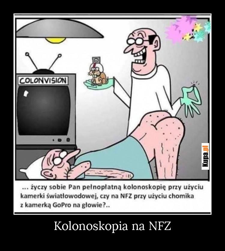 Kolonoskopia na NFZ
