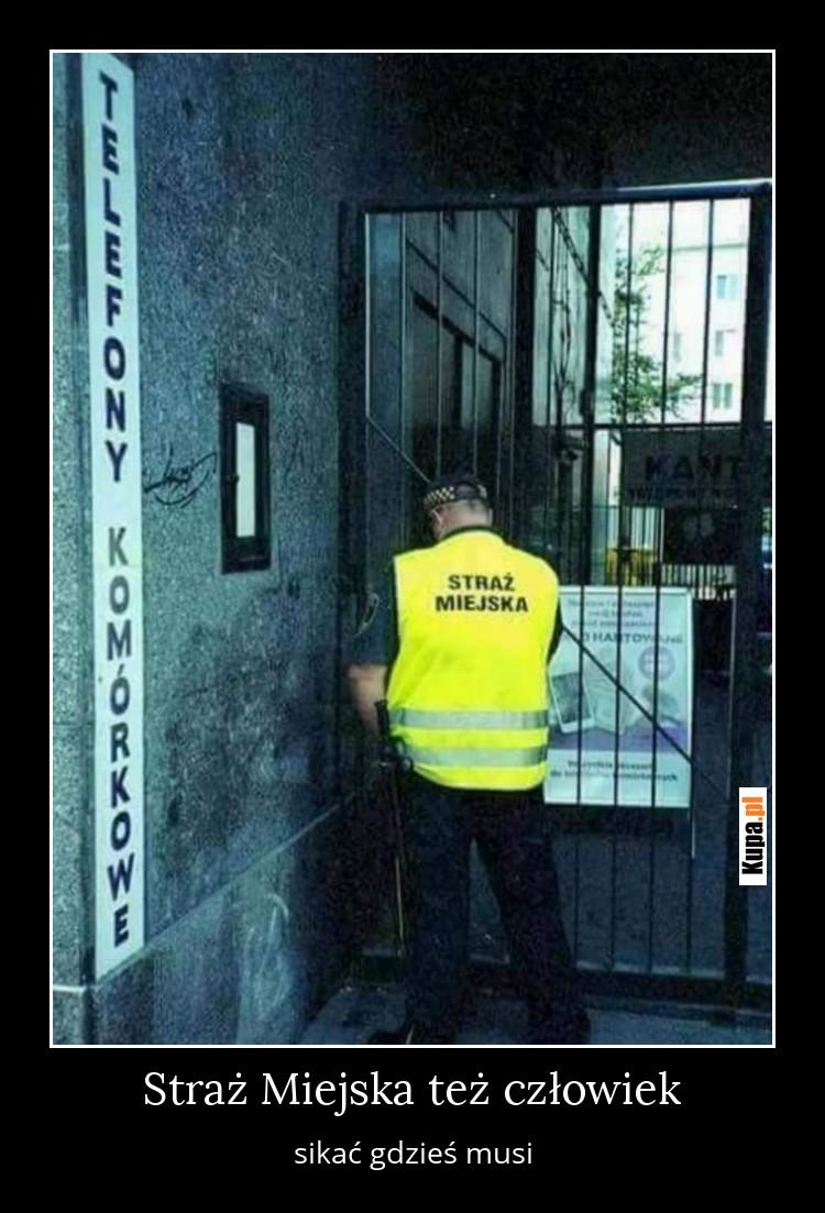 Straż Miejska też człowiek