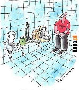 Toaleta w Adventure Club