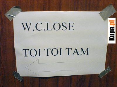 W.C.LOSE - TOI TOI TAM