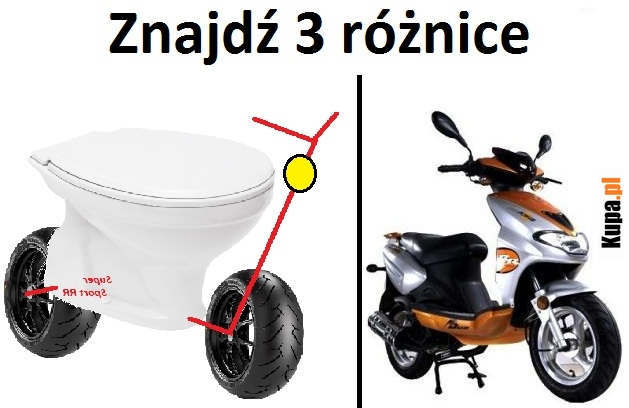 Znajdź 3 różnice