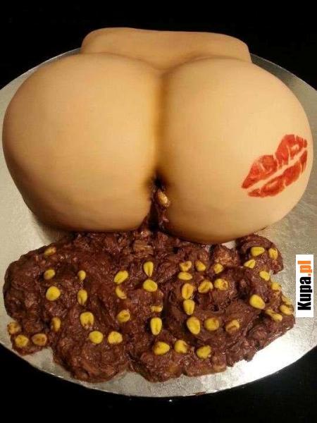 Piękny seksowny tort - kukurydza :)