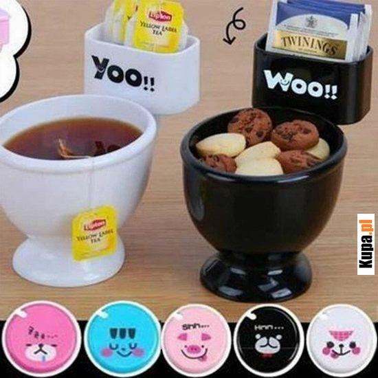 Piękne kubki na kawkę, herbatkę... smacznego :)