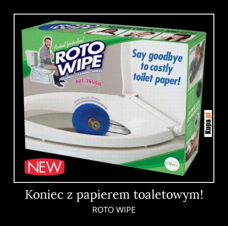 Koniec z papierem toaletowym!